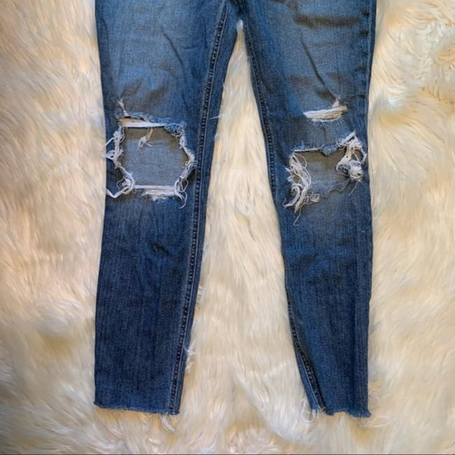 JOE'S Jeans Blue Distressed The Icon Mid-rise Ankle Skinny Jeans Size 30 (6, M) JOE'S Jeans Blue Distressed The Icon Mid-rise Ankle Skinny Jeans Size 30 (6, M) Image 3