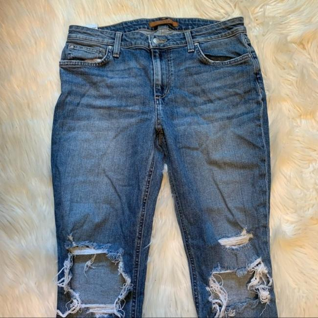 JOE'S Jeans Blue Distressed The Icon Mid-rise Ankle Skinny Jeans Size 30 (6, M) JOE'S Jeans Blue Distressed The Icon Mid-rise Ankle Skinny Jeans Size 30 (6, M) Image 5