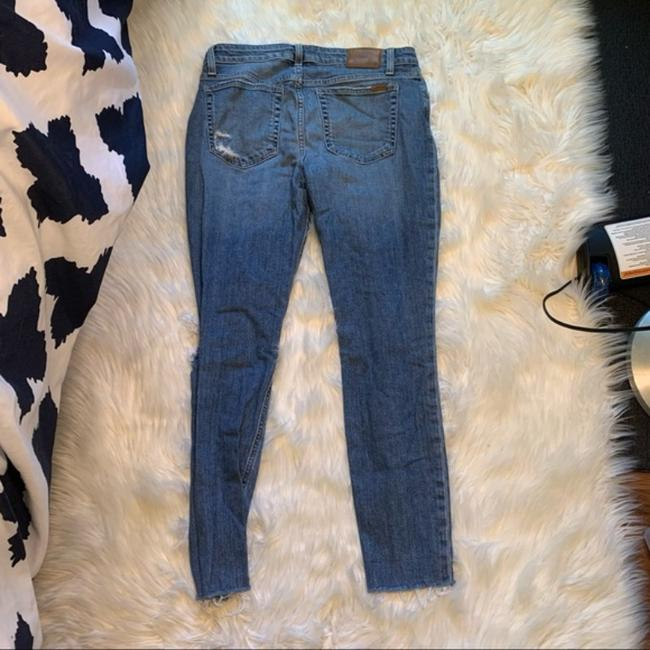 JOE'S Jeans Blue Distressed The Icon Mid-rise Ankle Skinny Jeans Size 30 (6, M) JOE'S Jeans Blue Distressed The Icon Mid-rise Ankle Skinny Jeans Size 30 (6, M) Image 8