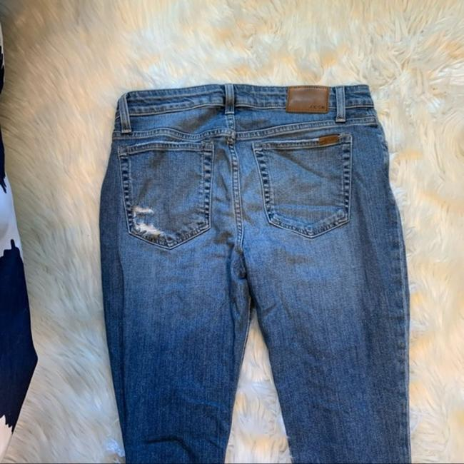 JOE'S Jeans Blue Distressed The Icon Mid-rise Ankle Skinny Jeans Size 30 (6, M) JOE'S Jeans Blue Distressed The Icon Mid-rise Ankle Skinny Jeans Size 30 (6, M) Image 9