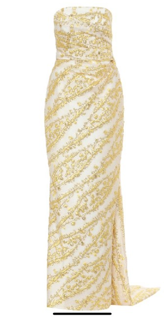 Item - Yellow/Gold 20151-133 Long Formal Dress Size 6 (S)
