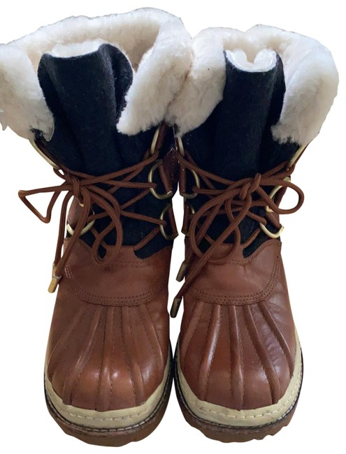 Item - Multicolor Sherpa Lined Boots/Booties Size US 7 Regular (M, B)