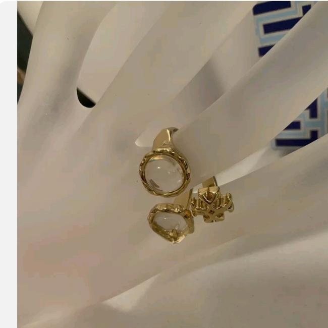 Item - Gold Stud Roxanne Clusted Ring