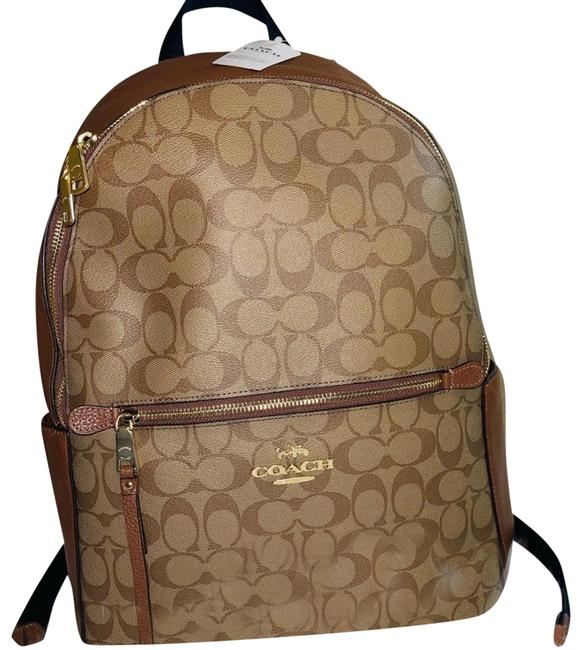 Item - Addison Sgnature 91018 Tan Leather Backpack