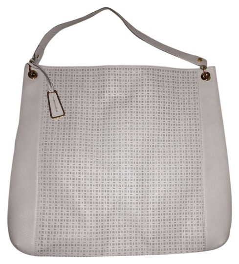 BCBGMAXAZRIA Leather Detail Shoulder Bag