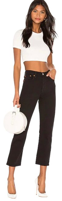 Item - Black Wedgie Fit Straight Leg Jeans Size 4 (S, 27)