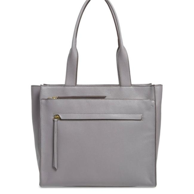 Item - Tote Finn Pebbled Gray Leather Weekend/Travel Bag
