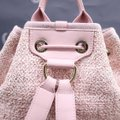 Chanel Deauville Bucket Pink Canvas Backpack Chanel Deauville Bucket Pink Canvas Backpack Image 9