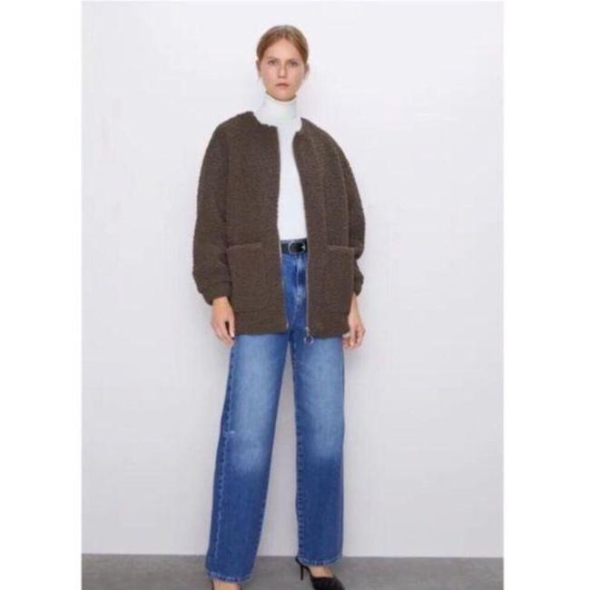 Item - Brown Faux Shearling Teddy Coat Size 6 (S)