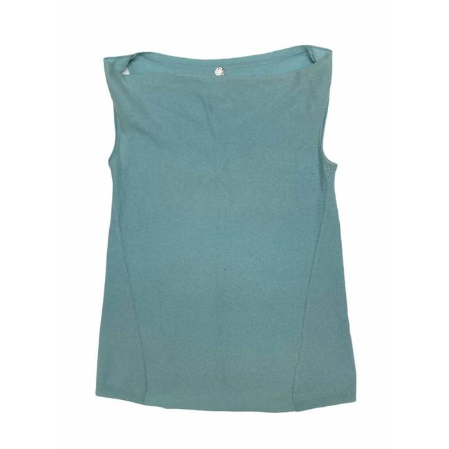 Item - Blue XS Cashmere Sleeveless Green Turquoise Tank Top/Cami Size 2 (XS)
