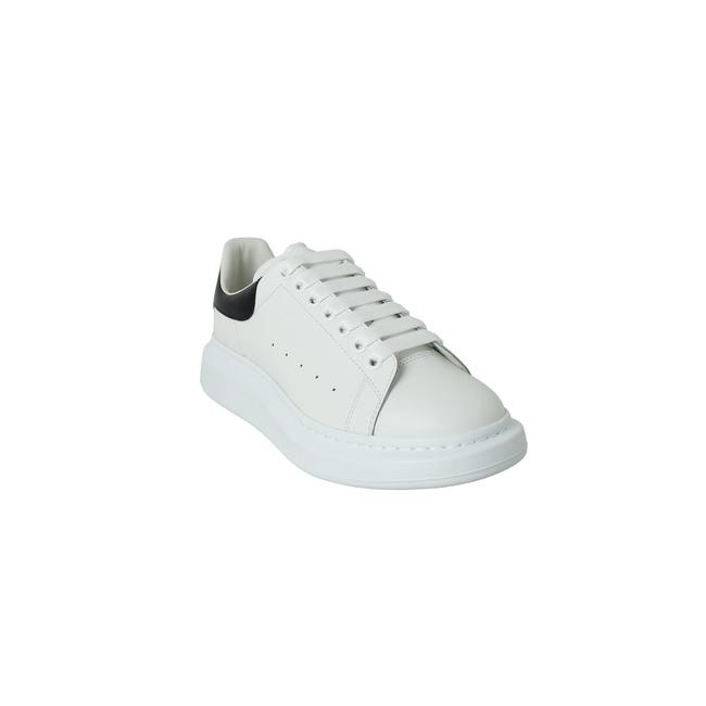 Item - White Black Larry Leather Sneakers Size EU 42.5 (Approx. US 12.5) Regular (M, B)