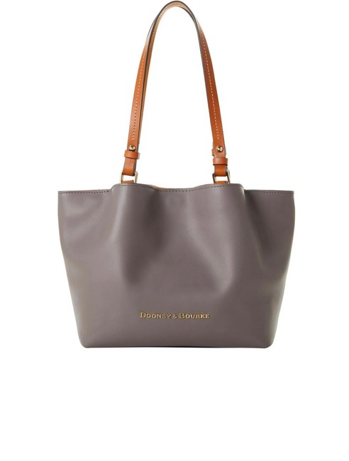 Item - City Flynn Gray Leather Tote
