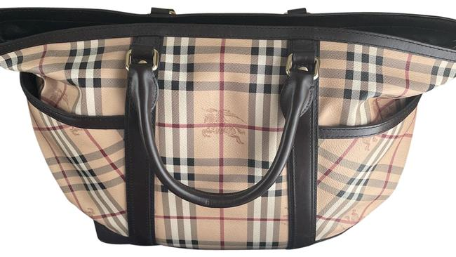 Item - Traditional Check Coated Canvas Diaper Bag