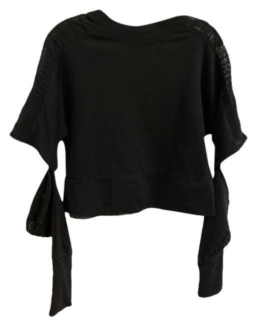 Item - Black Small Activewear Top Size 4 (S)