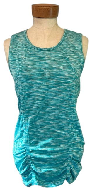 Item - Teal Fastest Track Activewear Top Size 6 (S)