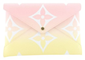 Louis Vuitton Clutches Canvas Coated Cross Body Bag