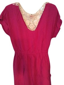 Mossimo Supply Co. short dress Magenta on Tradesy