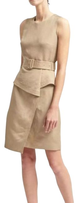 Item - Nude 0000 Mid-length Work/Office Dress Size 6 (S)