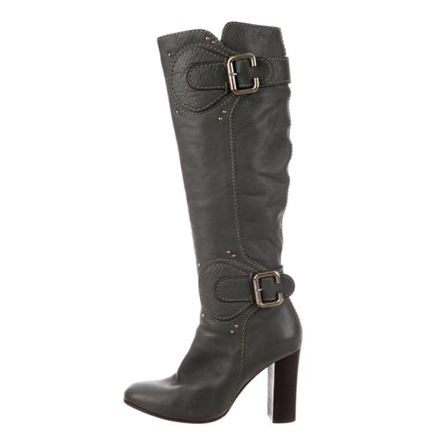 Item - Green Leather Riding Boots/Booties Size US 8.5 Regular (M, B)