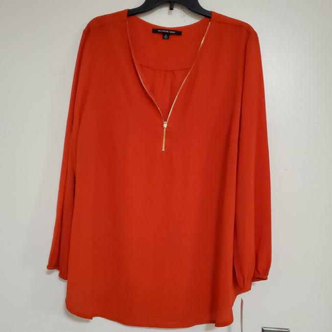 Item - Red Makes The Statement Casual Where It with Anything St834dxv3 Blouse Size 24 (Plus 2x)
