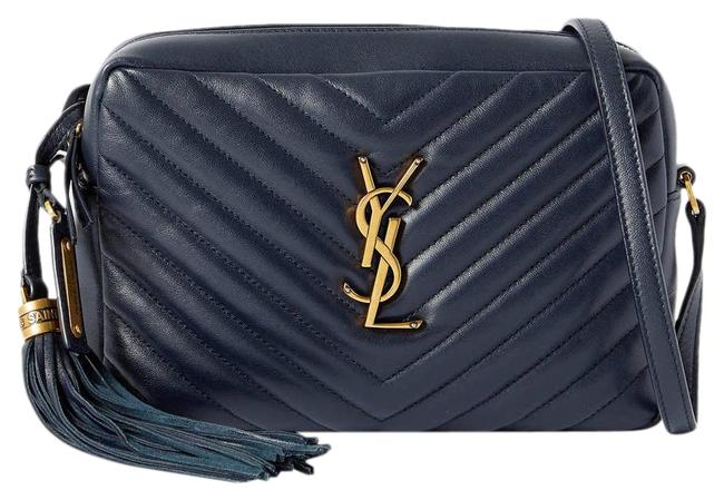Item - Monogram Loulou Shoulder Quilted Leather Navy Blue Cross Body Bag