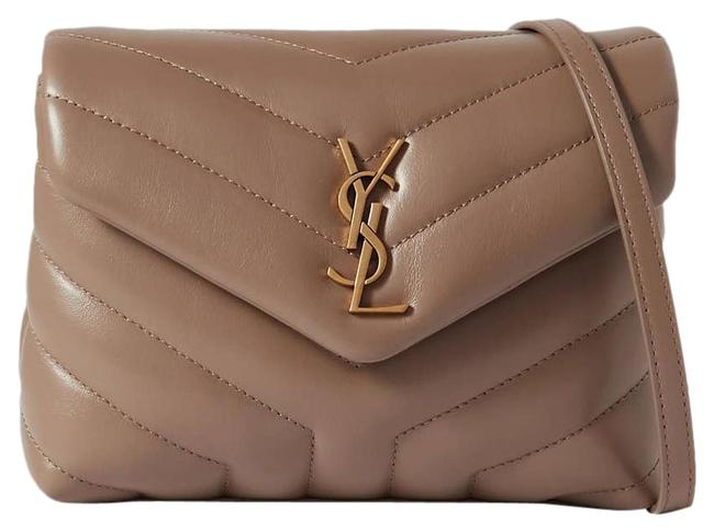 Item - Monogram Loulou Shoulder Toy Quilted Leather Taupe Cross Body Bag