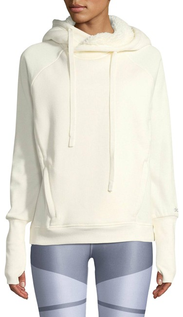 Item - Ivory Yoga Frost Faux Shearling Lined Cream Activewear Outerwear Size 4 (S)