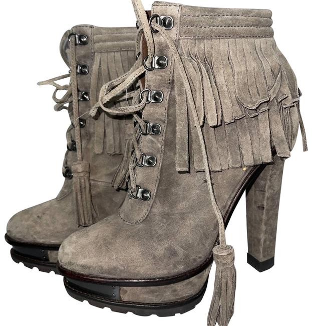 Item - Gray Stunning Ankle Boots/Booties Size US 8.5 Regular (M, B)