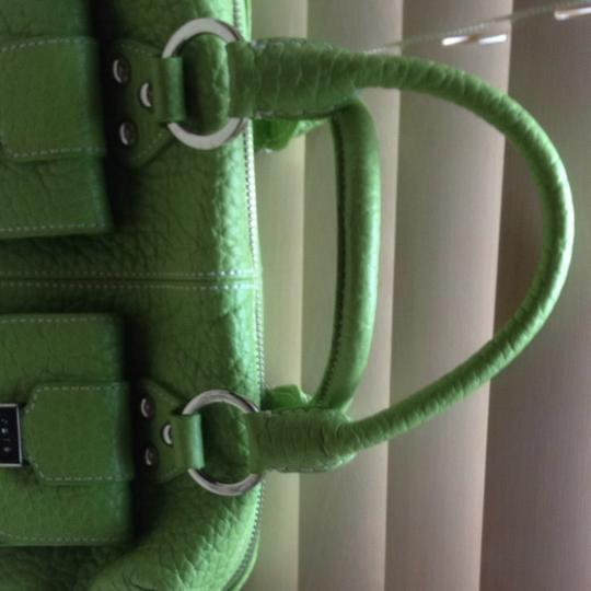 Rafe Satchel in Lime Green