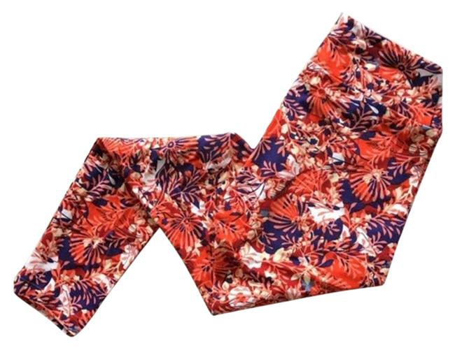 Item - Red Autumn Colors Leggings Size OS (one size)