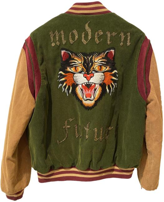 Item - Multicolor Modern Future Angry Cat Coat Size 12 (L)