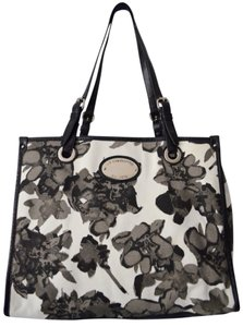 Liz Claiborne Neutral Floral Shoulder Bag