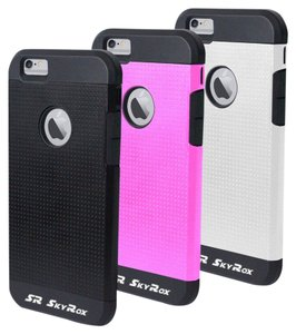 Skyr iPhone 6 Protective Case - Drop Protection - New Dual Layer Case with 3 Covers
