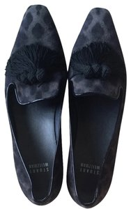Stuart Weitzman Black and grey Flats