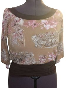 Max Rave Top Brown multi