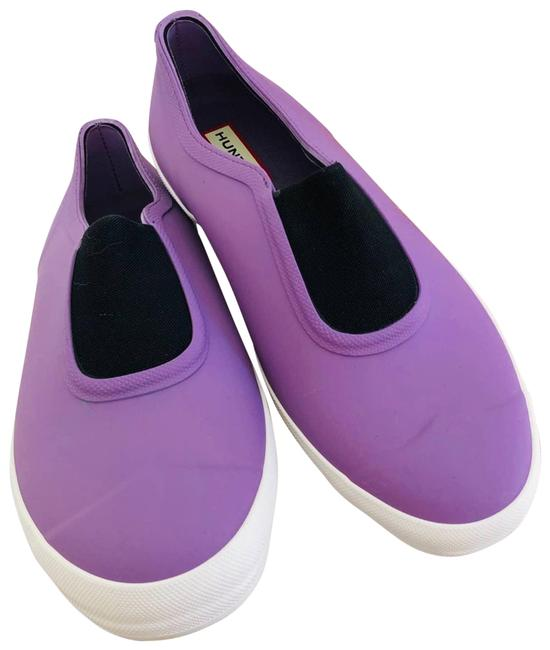 Item - Purple New Plimsole White Slip On Flats Loafers Sneakers Size US 9 Regular (M, B)