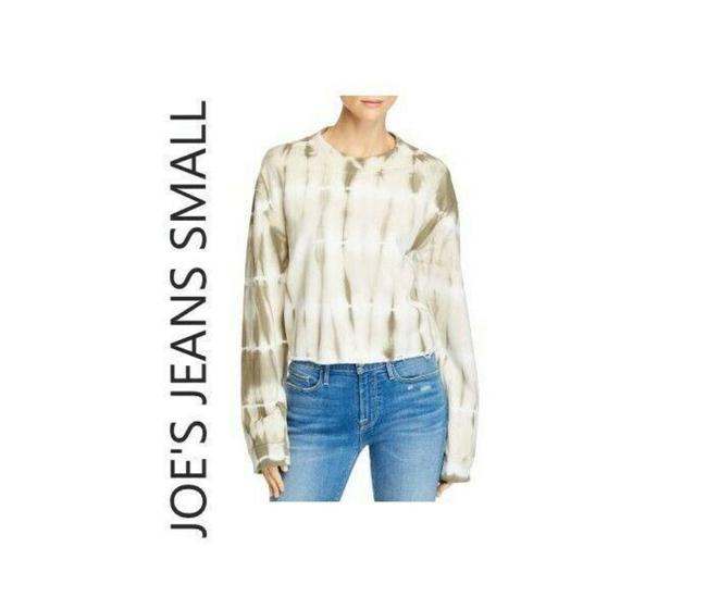 Item - Olive and White No Sweatshirt/Hoodie Size 4 (S)