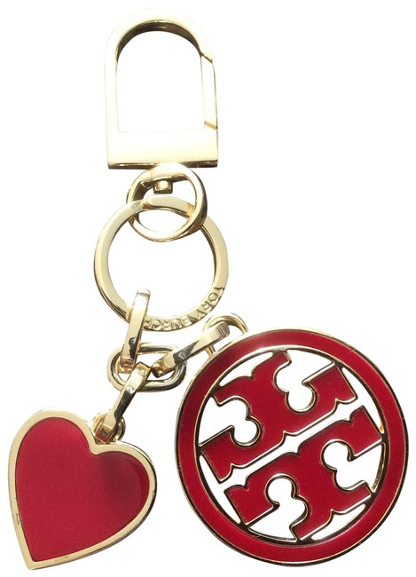 Item - Red and Gold Keychain