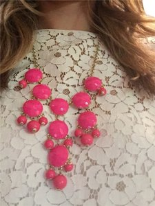 J.Crew J.Crew Mini Bubble Necklace In Hot Pink