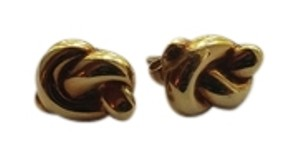 Tiffany & Co. Tiffany 18 KT Gold Knot Earrings