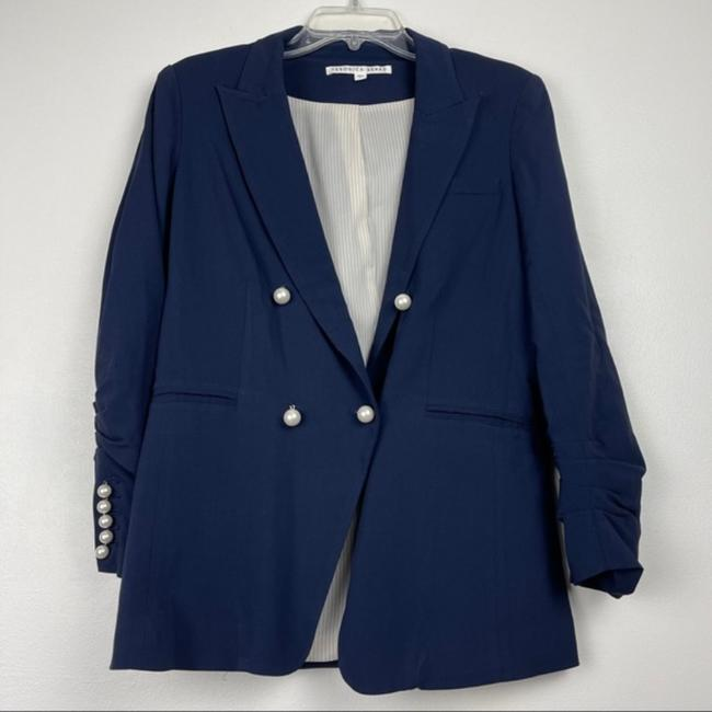 Item - Blue Pearl Accent Whit Blazer Size 8 (M)