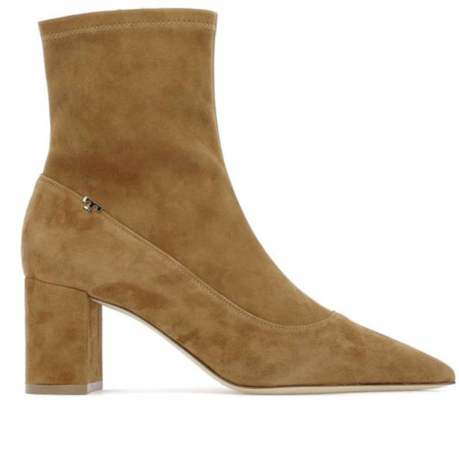Item - Light Brown Penelope Stretch Suede Boots/Booties Size US 8 Regular (M, B)