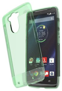 Vena Cava Motorola DROID Turbo Case Ultra Slim Protection 1.4mm TPU Transparent Teal