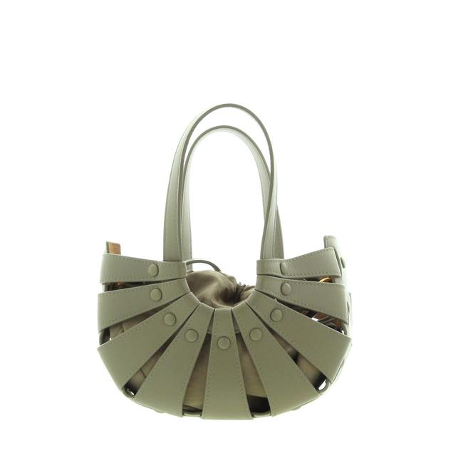 Item - The Shell Small Taupe Leather Shoulder Bag