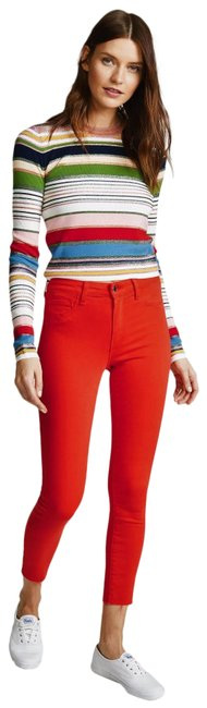 Item - Red Margot High Rise Skinny Jeans Size 27 (4, S)