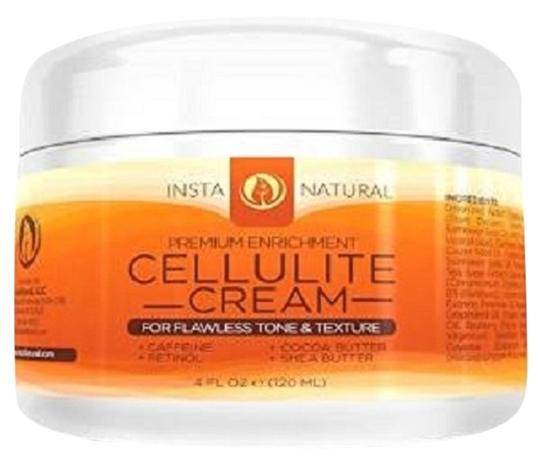 InstaNatural InstaNatural Cellulite Cream - With Retinol, Caffeine, Vitamin C & B5, Cocoa Butter & Shea Butter - Reduces Appearance of Cellulite - 4 Oz