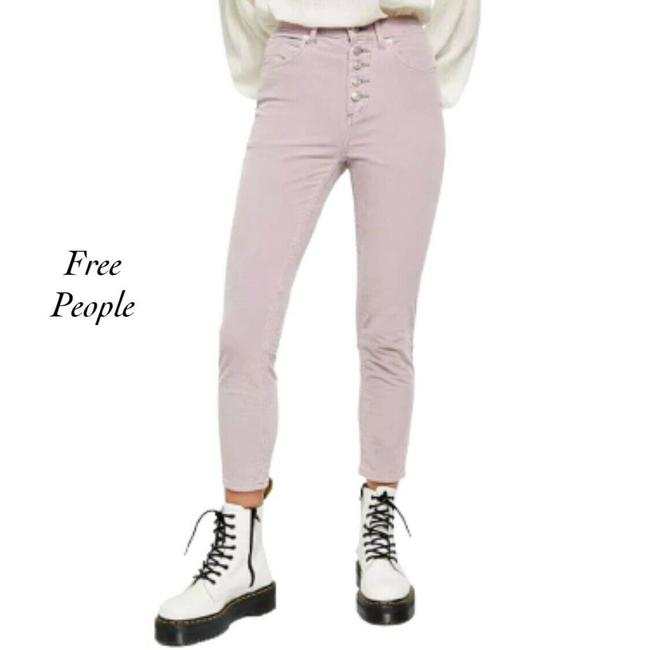 Item - Sun Chaser Cord Corduroy Frosted Lilac Skinny Jeans Size 26 (2, XS)