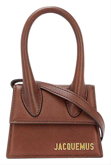 Item - Le Chiquito Dark Brown Leather Tote