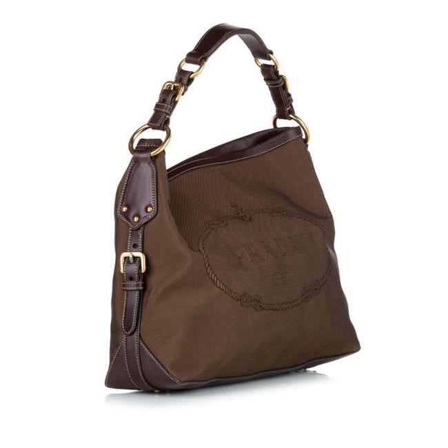 Item - Canapa Brown Leather Hobo Bag