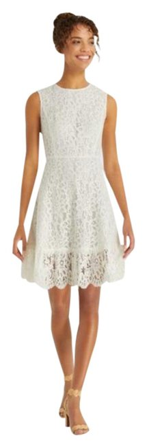 Item - White Lace A-line In Willow Short Casual Dress Size 0 (XS)